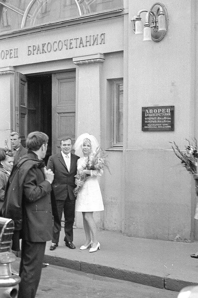 Московская свадьба 60-х                      Интересное