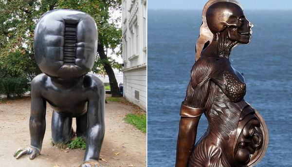 10 пугающих скульптур, которые заставляют поверить в существование ада