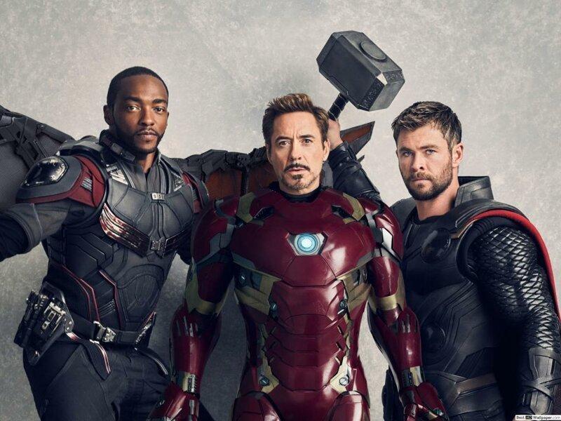 Как бы выглядели «Мстители», если бы их снимали в 90-х                      Интересное