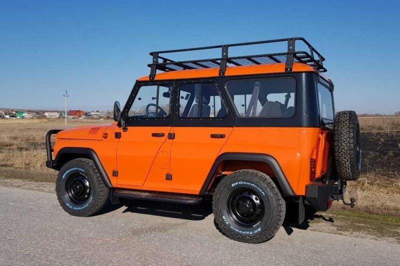 Экспедиционный внедорожник УАЗ «Хантер» за 1 миллион рублей                      авто