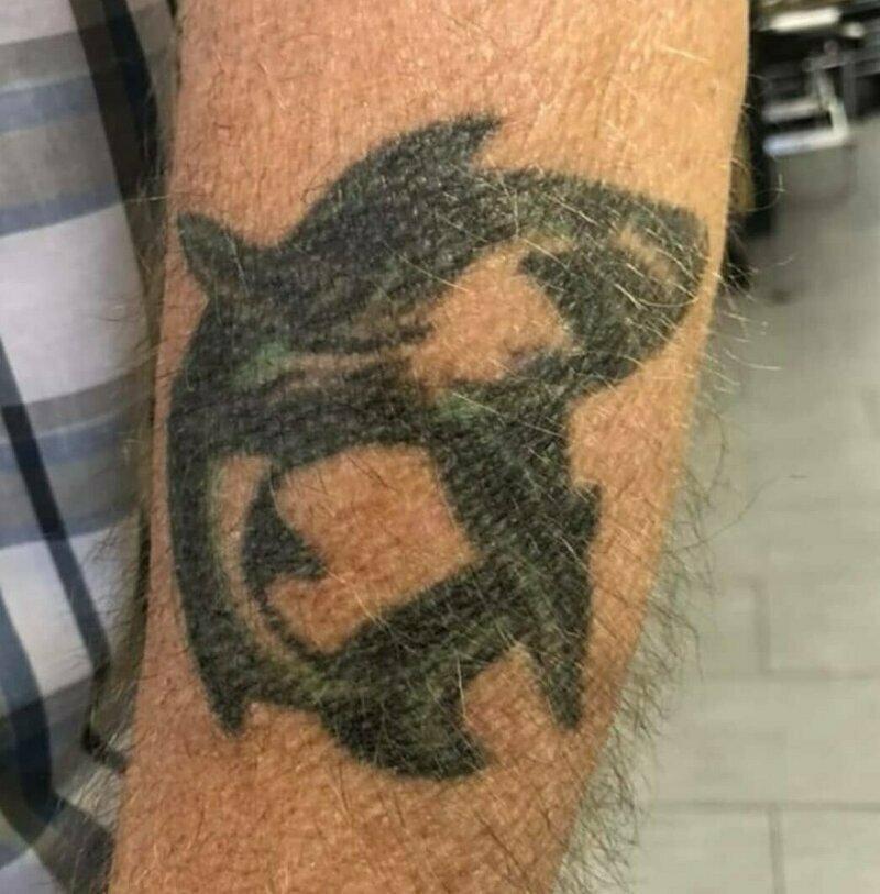 Наглядно о том, что будет с татуировками в старости: 10 мотивирующих фото-11 фото-