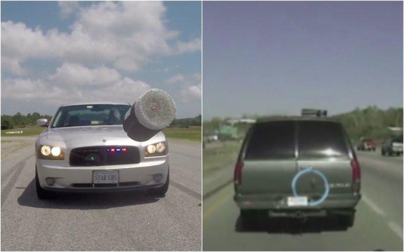 Дротики с GPS — новые технологии дорожной полиции в США                      Интересное