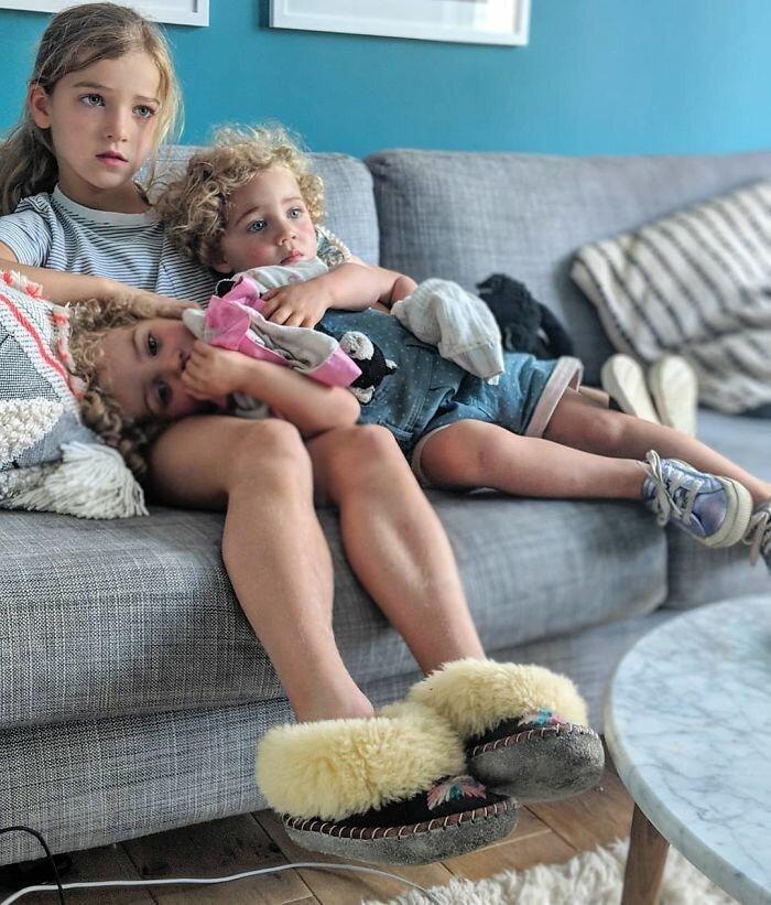 Отец четырех дочерей открывает суровую правду жизни-31 фото-