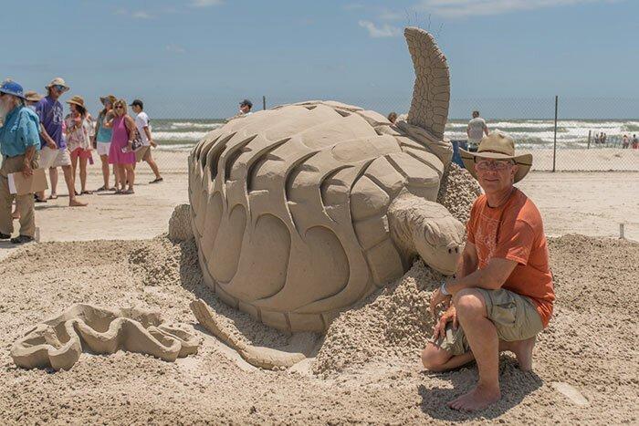 Даже не верится, что эти шедевры сделаны из песка!-14 фото-