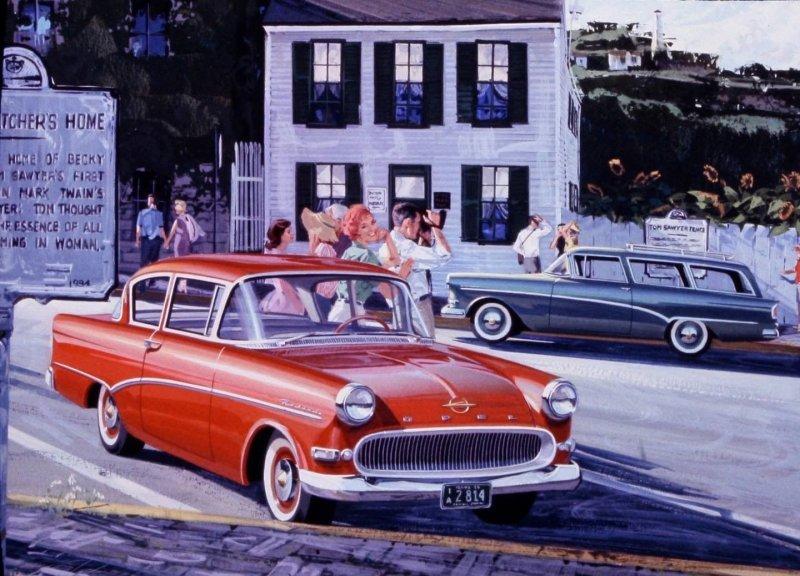 Джон Киллмастер — живой классик американской автомобильной иллюстрации-19 фото-