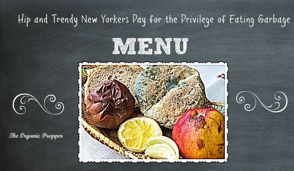Гламурный нью-йоркский ресторан предлагает еду из помойки