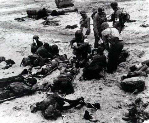 Редкие снимки высадки союзников в Нормандии-12 фото + 1 видео-