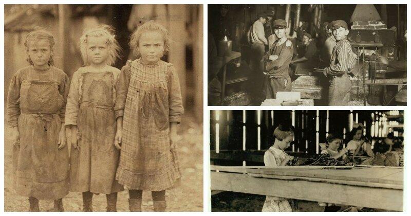 Лишенные детства: эксплуатация детского труда в США начала XX века                      Интересное