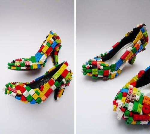 25 творений дизайнеров обувной промышленности, которые вы вряд ли решитесь надеть-27 фото-