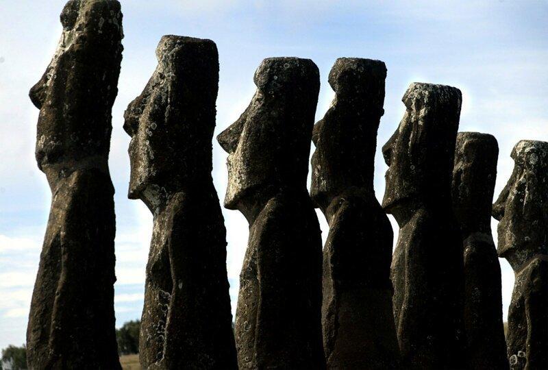 Древние реликвии острова Пасхи оказались под угрозой из-за туристов                      Интересное