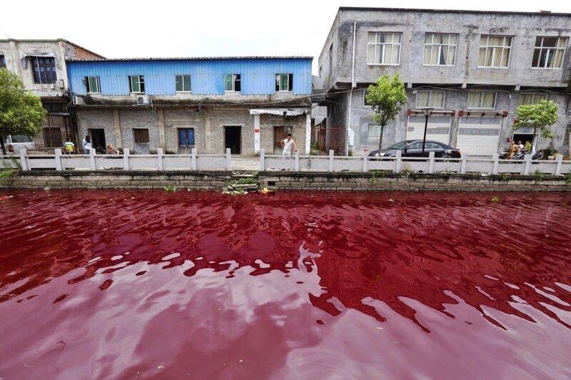 Топ кровавых рек мира-7 фото-