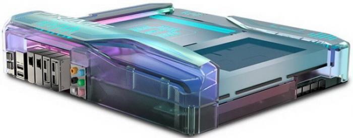 ASUS показала компьютерную материнскую плату будущего -5 фото-