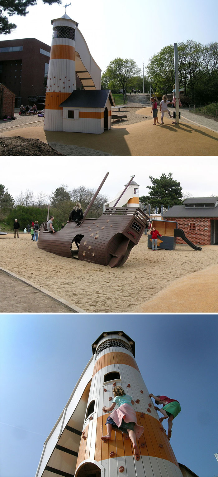 Восхитительные детские площадки от датской компании