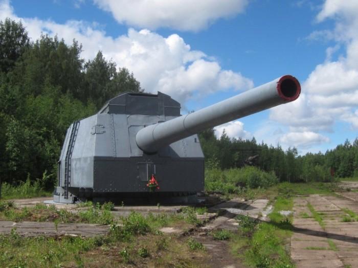 Советская «царь-пушка» Б-37 на страже блокадного Ленинграда Интересное