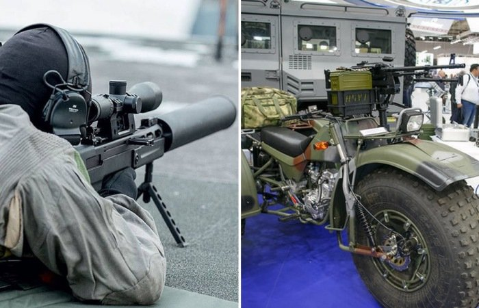 -Партизанский- трицикл и пробивающая все винтовка: самое интересное с открытия MILEX-2019