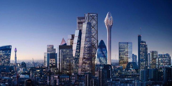 Панорамный бассейн с обзором 360 градусов будет установлен на небоскребе в Лондоне