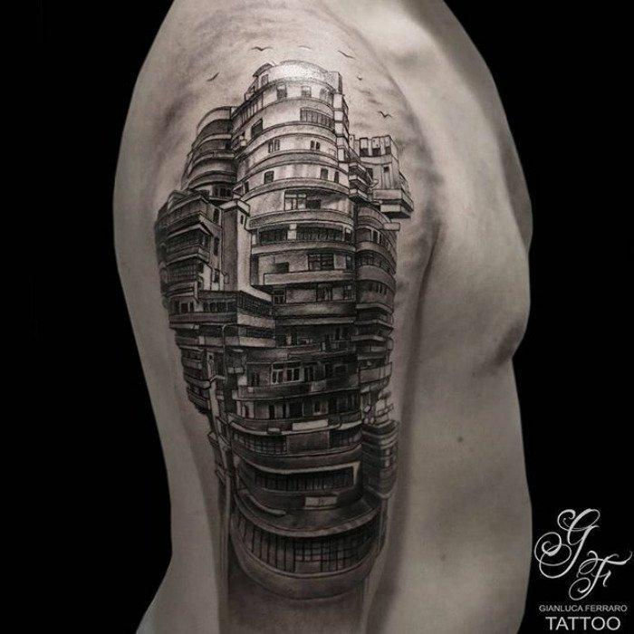 Архитектурные татуировки