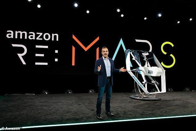 Беспилотник Amazon готов доставлять товары на порог покупателям-11 фото + 1 видео-