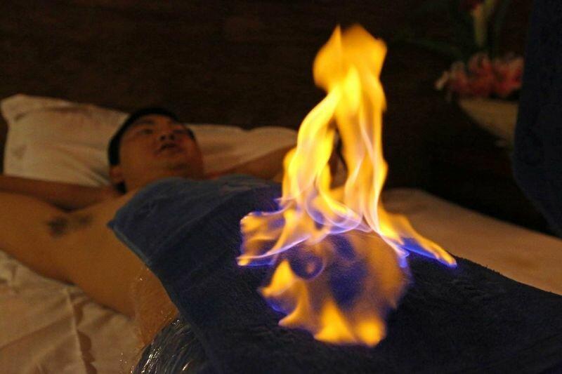 Самые экзотические массажи в мире-12 фото-