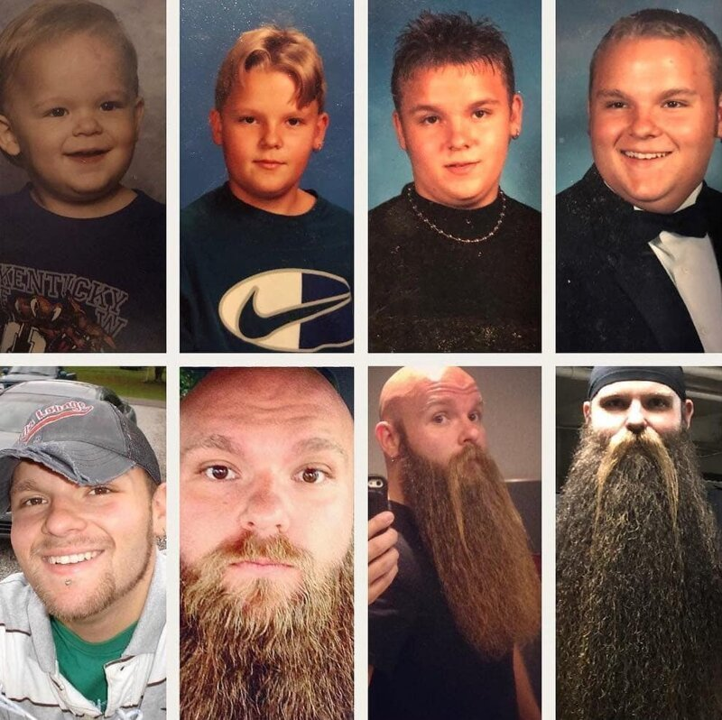 История о бороде, которая сделала своего хозяина богатым и счастливым-12 фото + 1 видео-