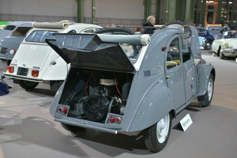 Ситроен с двумя моторами. Один из самых редких и необычных внедорожников-13 фото-