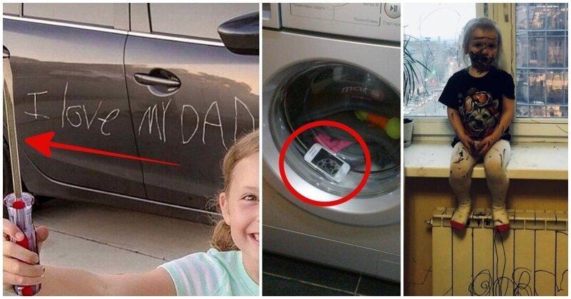 17 раз, когда родители ненадолго отвернулись - и сразу же пожалели об этом-18 фото-