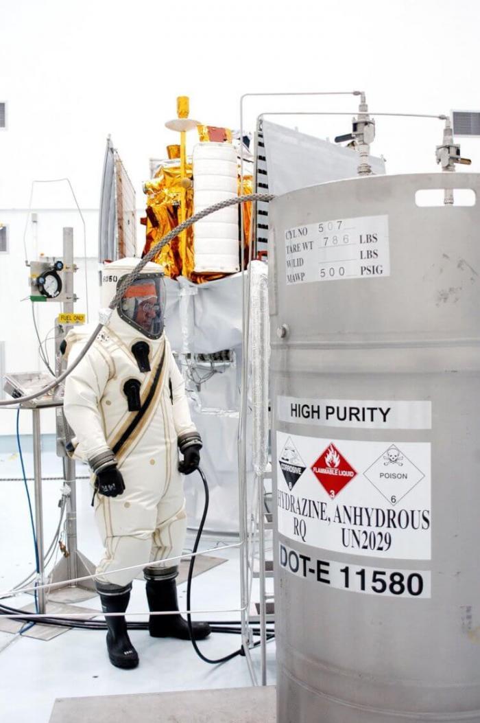 Новое космическое топливо будет безопаснее кофеина для людей. В отличие от старого  Интересное