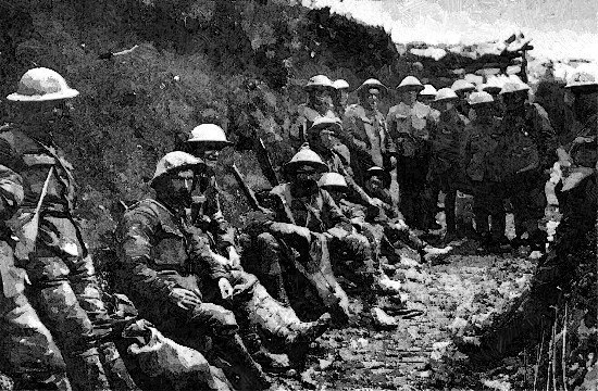 Рождество во время войны 1914 года