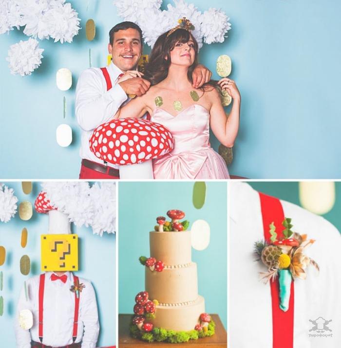 Самые крутые тематические свадьбы