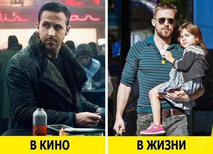 Актёры в фильмах и реальной жизни глазами их жён и друзей