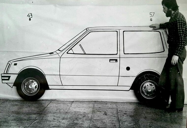 ОКА — микролитражка -КАМАЗа-. История одного автомобиля-20 фото-
