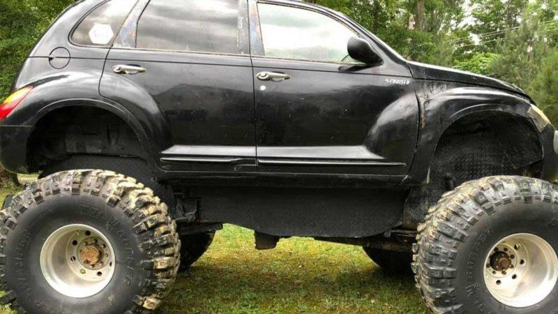 Chrysler PT Bruiser - внедорожный монстр на продажу-8 фото-