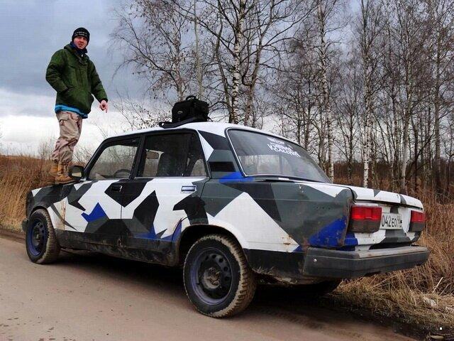 Автогородской камуфляж-30 фото-