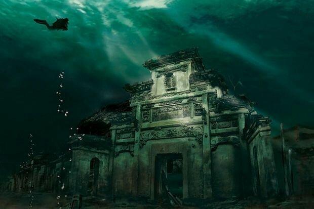 Загадки подводных городов-10 фото-