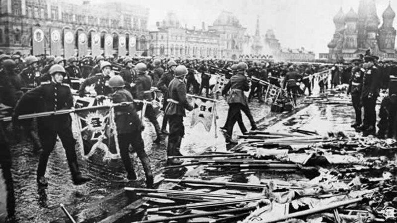 74 года назад, 24 июня 1945 года, на Красной площади был проведён первый Парад Победы-9 фото + 4 видео-