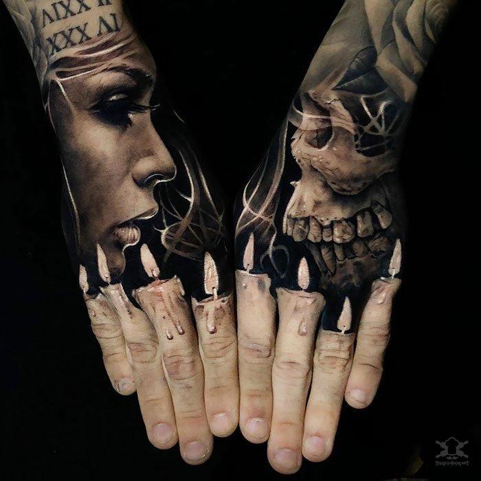 Невероятно реалистичные 3D-татуировки