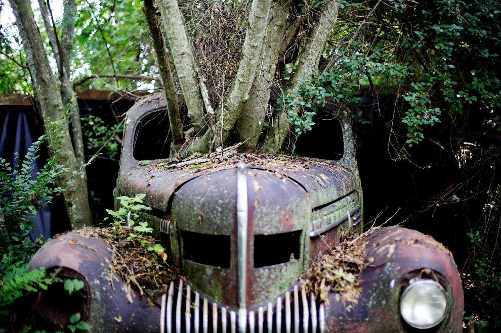 Город заброшенных автомобилей