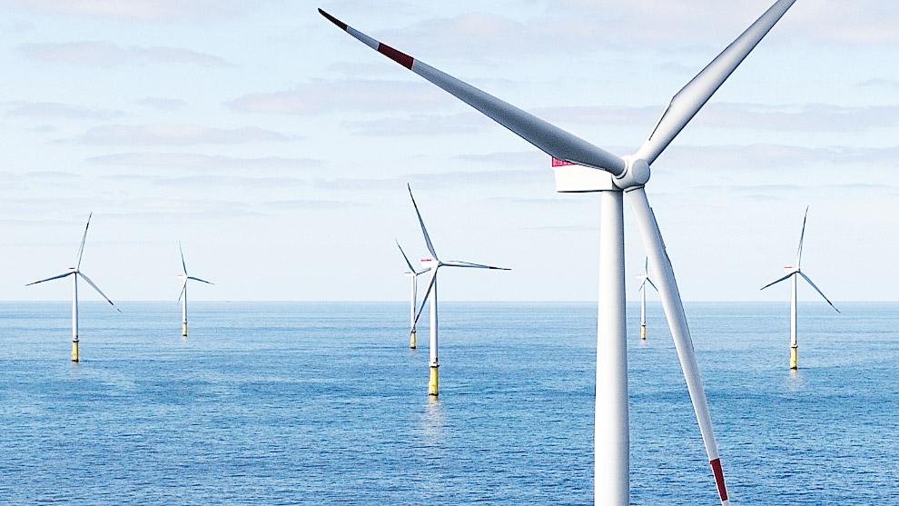 Самая крупная в мире ветряная электростанция Hornsea One