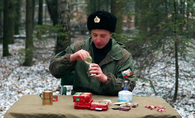 Белорусский сухпай для ВДВ