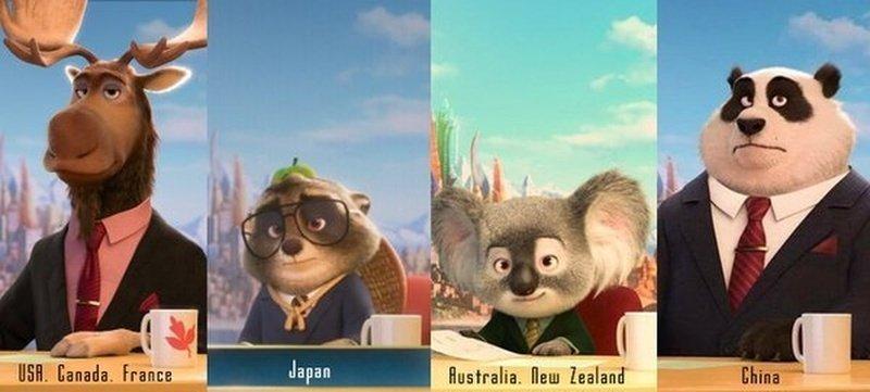 Как известные мультфильмы адаптировали для разных стран