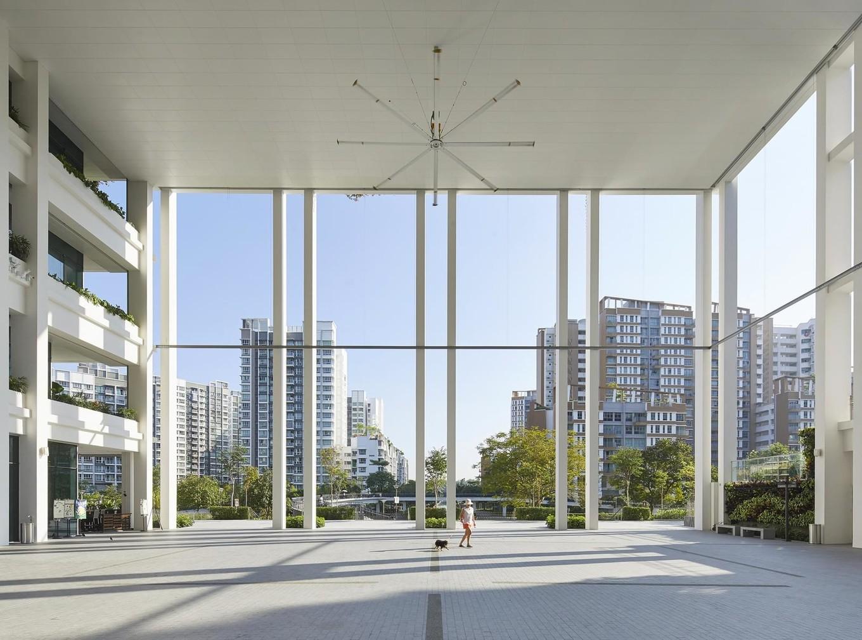 Как выглядит общественный центр и поликлиника в Сингапуре