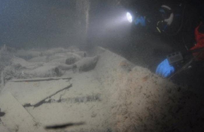 Интересные находки, связанные с кораблекрушениями