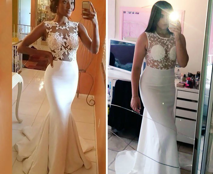 Когда реальность не оправдала ожидание: 10 платьев на выпускной, заказанных через интернет