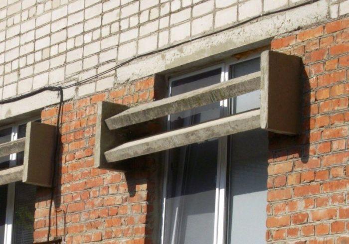 Зачем на окнах советских домов устанавливали такие козырьки Интересное