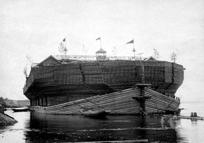 Беляны – зачем в царское время по Волге гоняли корабли, сделанные из дров