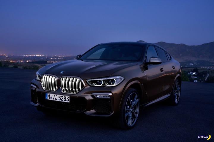 А как вам обновленный BMW X6? авто