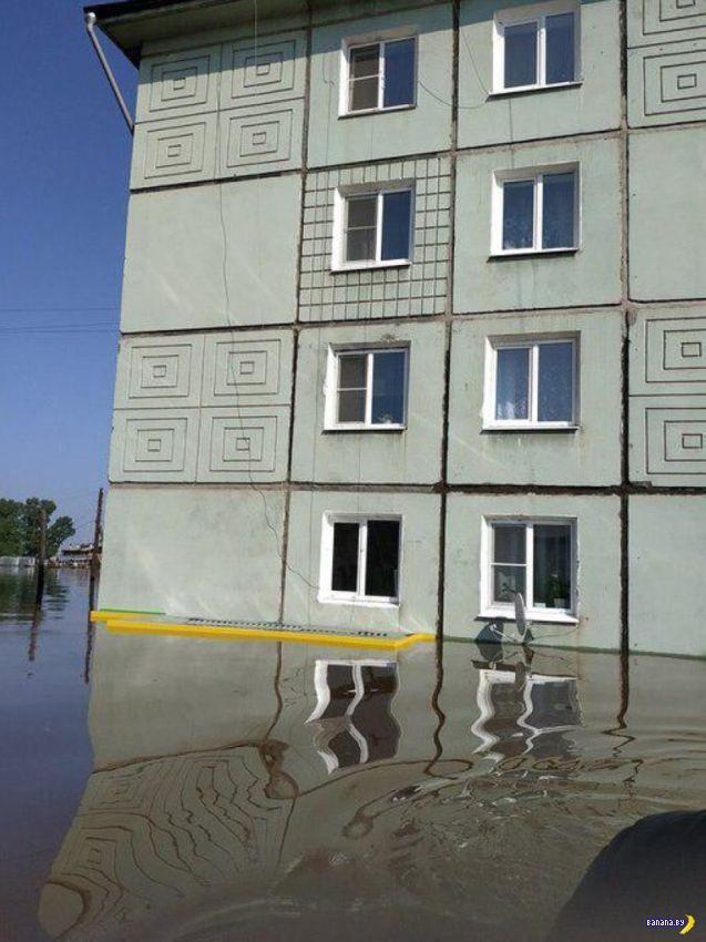 Фотографии потопа в Иркутской области Интересное