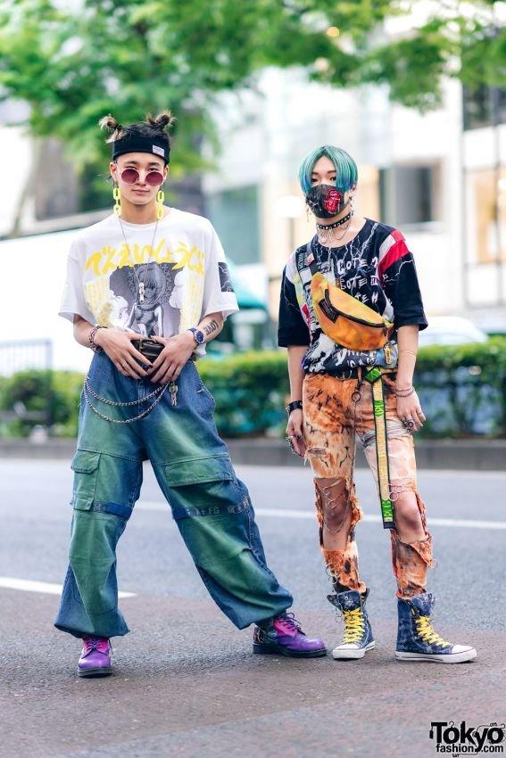 Уличные японцы Интересное