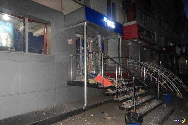 Очередной взрыв банкомата