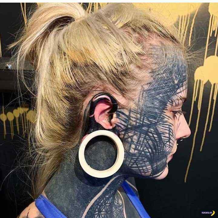 Татуировки на зависть - 122 - Забитые лица!